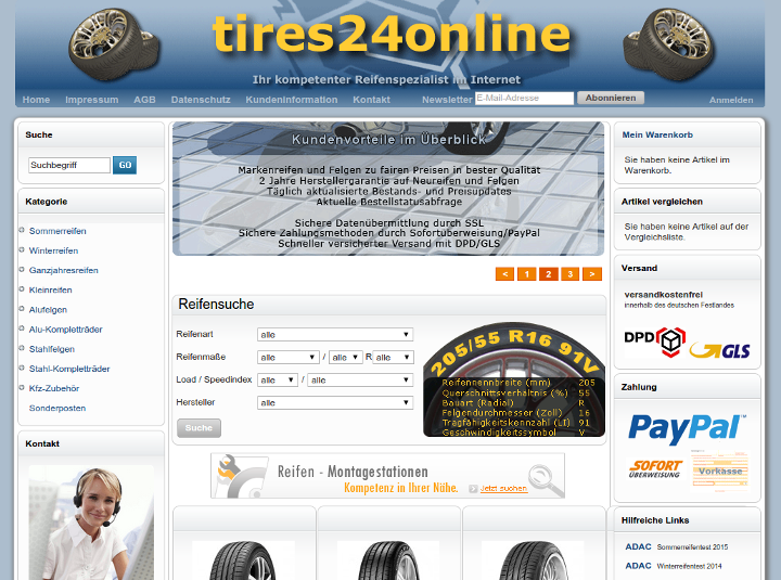 Referenz: tires24online.de